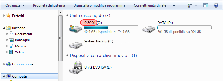 Conversione da FAT32 a NTFS - Unità disco rigido